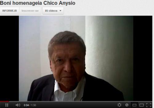 """Boni, sobre Chico Anysio: """"Todos os personagens dele tinham alma"""""""