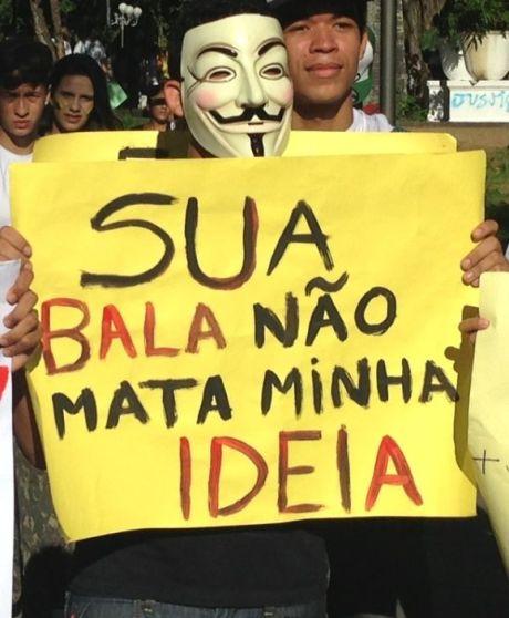 Leitora registra manifestações em Salvador
