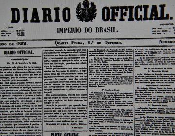Impressor do Diário Oficial da União se aposenta