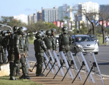 Exército vê intervenção como forma de preparar tropas para manifestações