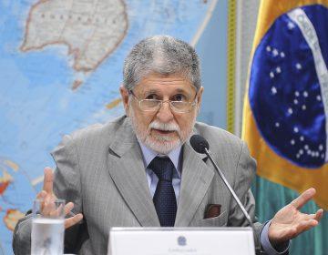 Lula define Celso Amorim como candidato do PT para o Governo do Rio