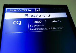 Não passou pela CCJ do Senado legalização dos jogos de azar