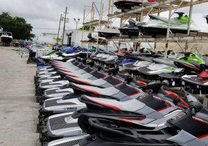 PF descobre contrabando de Jet ski na fronteira com Paraguai
