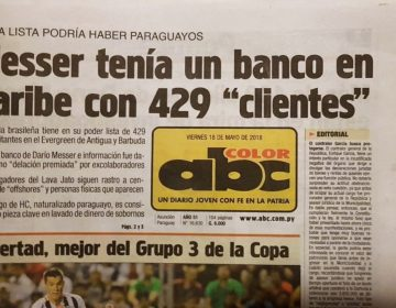 Doleiro Messer tem banco no Caribe, diz jornal do Paraguai