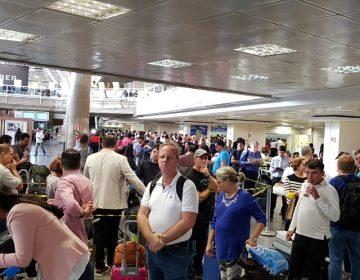 Efeito aéreo da greve sobre rodas: mais de 1.500 pessoas na fila de remarcação de voos em Brasília