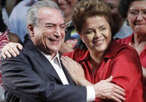 Temer tem a mesma rejeição de Dilma quando sofreu impeachment