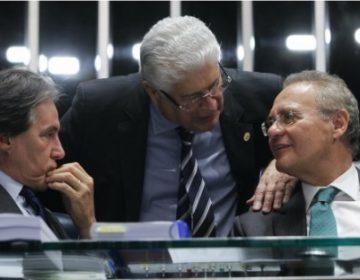 Renan, Requião e Eunício são contra candidatura de Meirelles ao Planalto