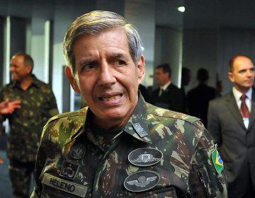 General Augusto Heleno cotado para vice de Bolsonaro
