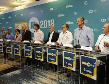 Candidatos miram Rollemberg em debate promovido pelo JBr