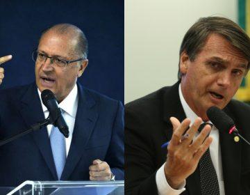 Frente suprapartidária atrai aliados de Alckmin para Bolsonaro