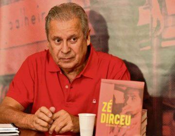 Dirceu lançará livro em Brasília, BH, Goiânia e SP