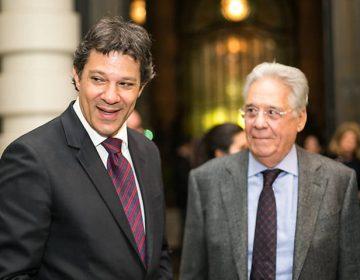 FHC puxa PSDB para fechar com Haddad