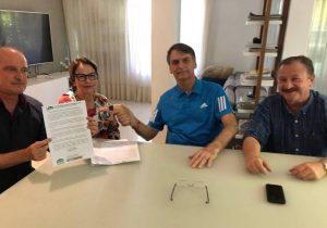 Bolsonaro confirma a ruralistas que grupo comandará ministério da Agricultura