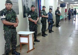 STF autoriza reforço de tropas para as eleições