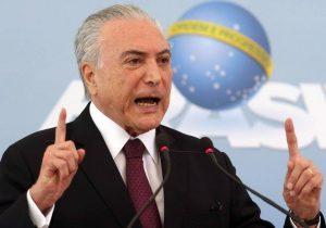 Temer oficializa acordo de Defesa entre Brasil e Rússia