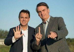Patriota faz as pazes com Bolsonaro