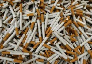 Cigarros lideram apreensões de produtos contrabandeados