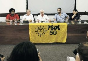 Integrantes do PSOL deixam partido para cargos no MDB