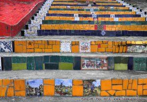 Associação quer cuidar da Escadaria Selarón no Rio