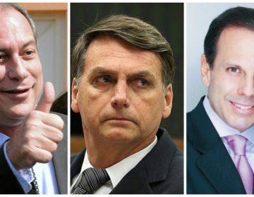 Ciro, Doria e Bolsonaro dão largada muito cedo para 2022