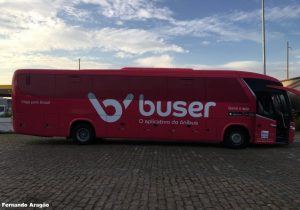 Empresas de ônibus sofrem com crescimento do Buser