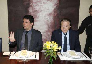 """PSL do """"queimado"""" Bivar janta com Moro; Cardápio foi de pacote anticrime"""