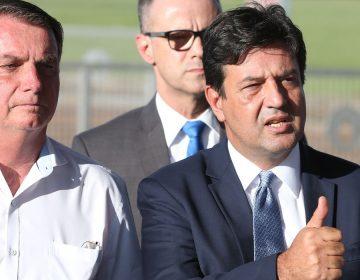 Bolsonaro enquadra Mandetta e ministro abraça discurso do chefe