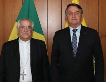 Com visita de Núncio Apostólico, Bolsonaro planeja aproximação com a Igreja