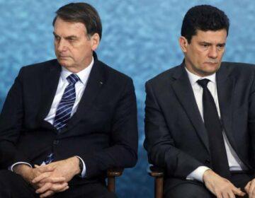 Bolsonaro provoca Moro em formatura de turma da PF