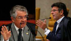 "Fux cita ""laços familiares"" para evitar guerra com Marco Aurélio"