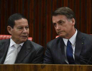 Chapa Bolsonaro e Mourão é alvo de ações no TSE