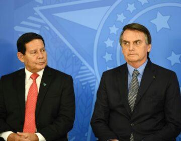 Fui e já volto: Bolsonaro nem 'brifou' Mourão para interinidade