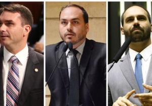 Filhos de Bolsonaro controlam três setores do Governo